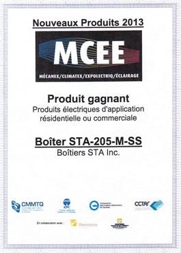 Certificat MCEE 2013
